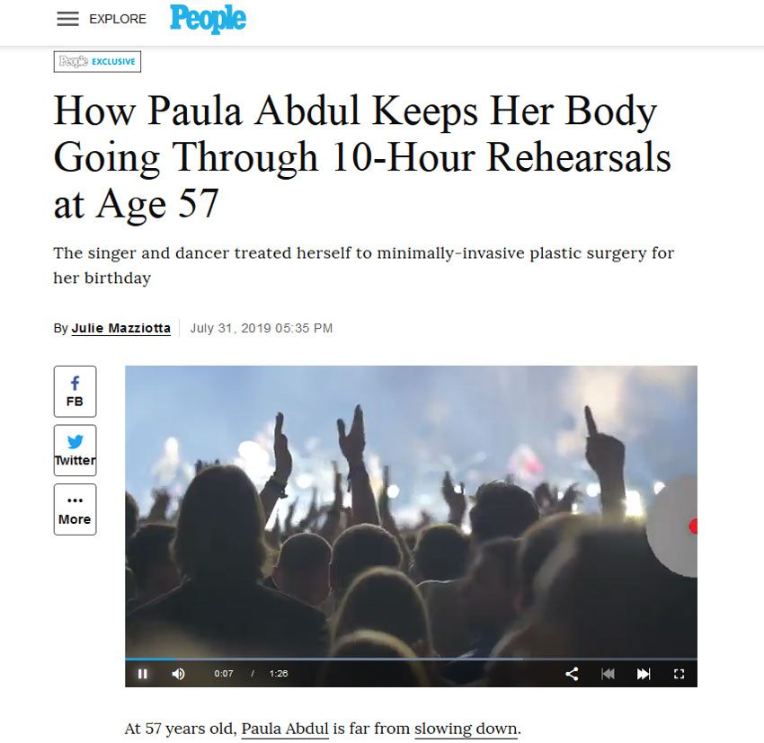 Paula Abdul Does 10-Hour Rehearsals At Age 57 to Keep Her Body Going
